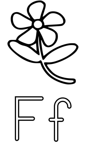 Flower Coloring Page Printable