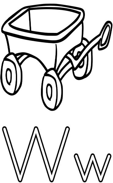 Wagon Coloring Page Printable